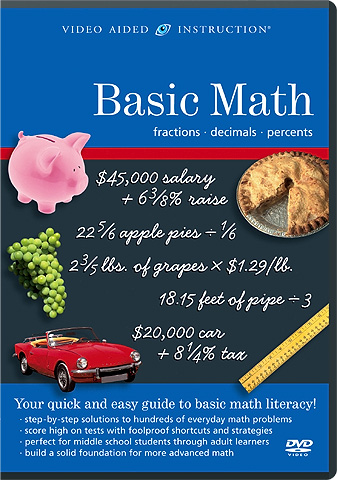 Video Aided Instruction :: Basic Math: Fractions, Decimals