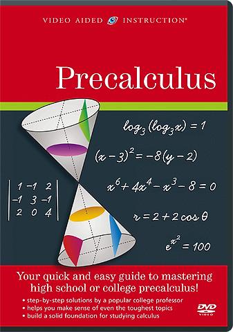 Video Aided Instruction :: Precalculus DVD Set, #VAI-1795