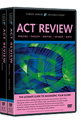 ACT Review DVDs
