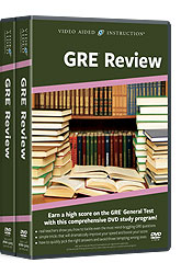 GRE Review DVDs
