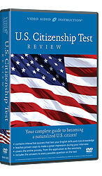 U.S. Citizenship Test Review DVDs