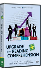 Upgrade Your Reading Comprehension DVDs