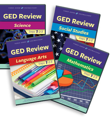 Video Aided Instruction :: GED Review DVD Series