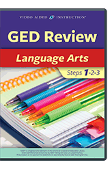 GED Review: Language Arts Steps 1-2-3