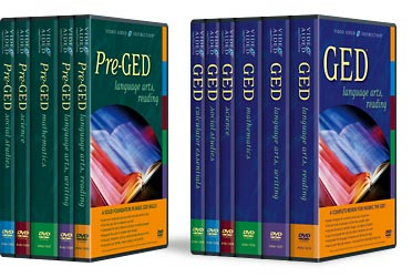 Pre-GED and GED DVDs