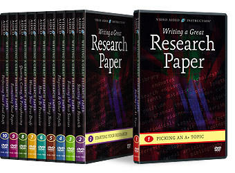 Writing a Great Research Paper DVDs