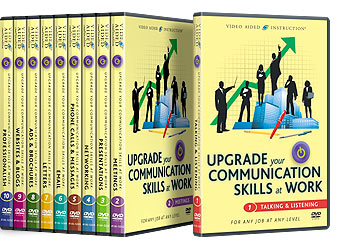 Upgrade Your Communication Skills at Work DVDs