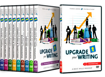 Video Aided Instruction :: Upgrade Your Writing DVD Series